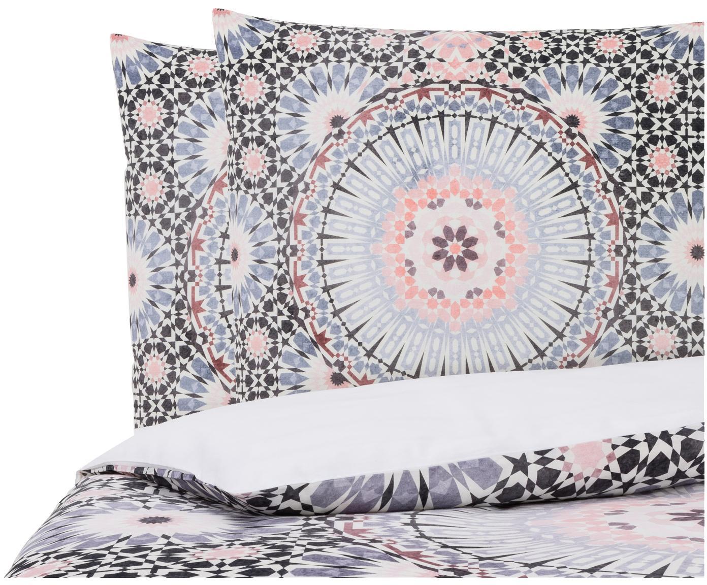Parure copripiumino reversibile in cotone Bohemia, Cotone, Multicolore, 200 x 200 cm