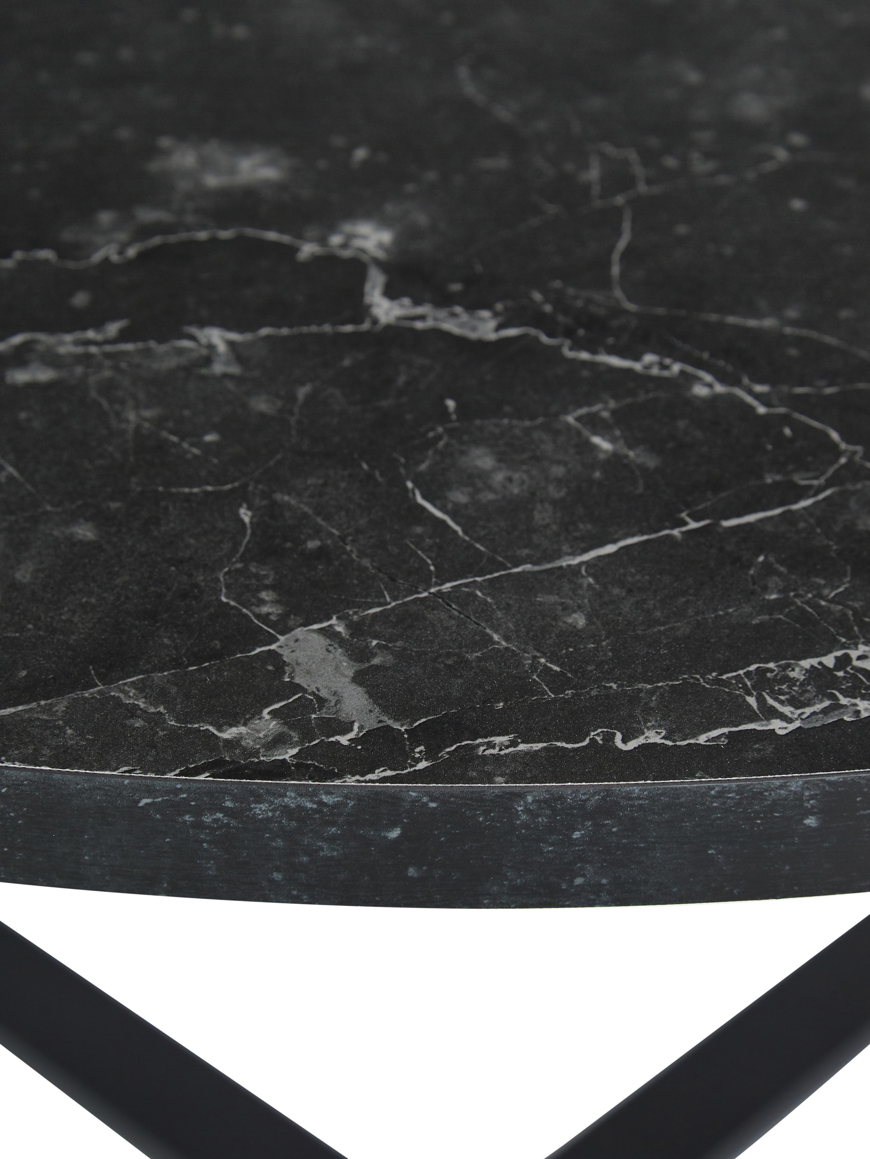 Table rondenoire Amble, Noir