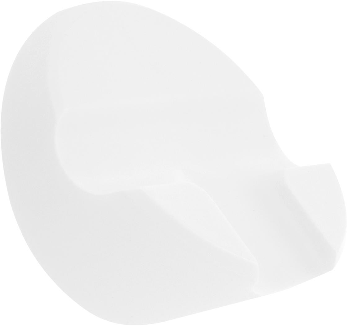 Abzieher Nova mit Wandaufhängung, Weiß, 21 x 5 cm