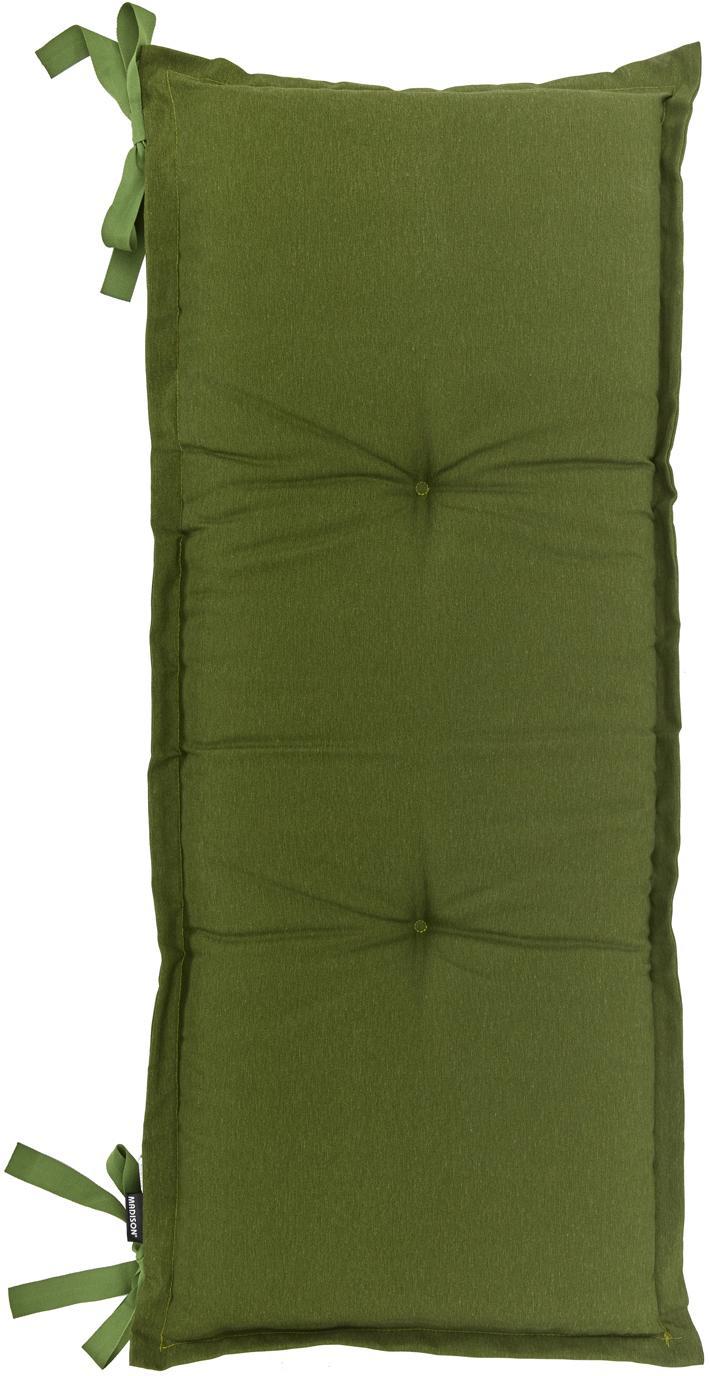 Cojín de banco Panama, Tapizado: 50%algodón, 45%poliéste, Verde, An 48 x L 120 cm