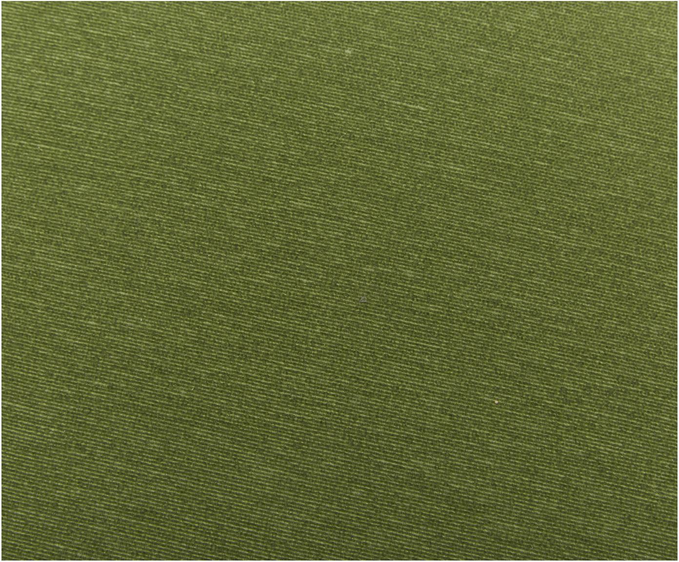 Coussin pour banc vert Panama, Vert