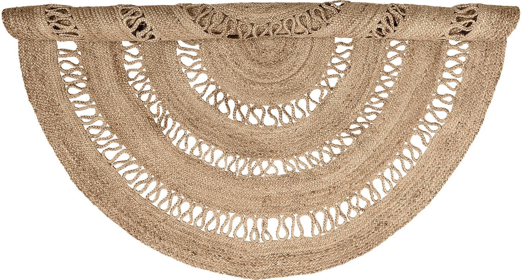 Okrągły dywan z juty Benita, Juta, Ø 182 cm (Rozmiar L)
