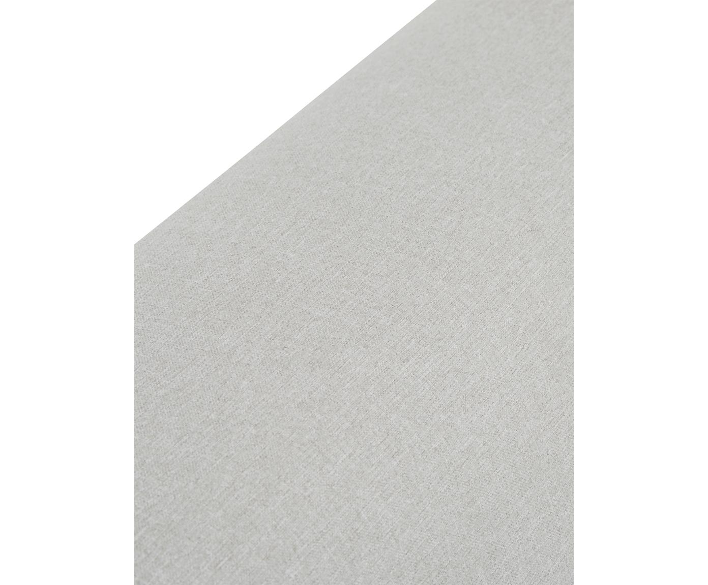 Letto imbottito con contenitore Cloud, Rivestimento: Poliestere (tessuto strut, Grigio chiaro, 180 x 200 cm