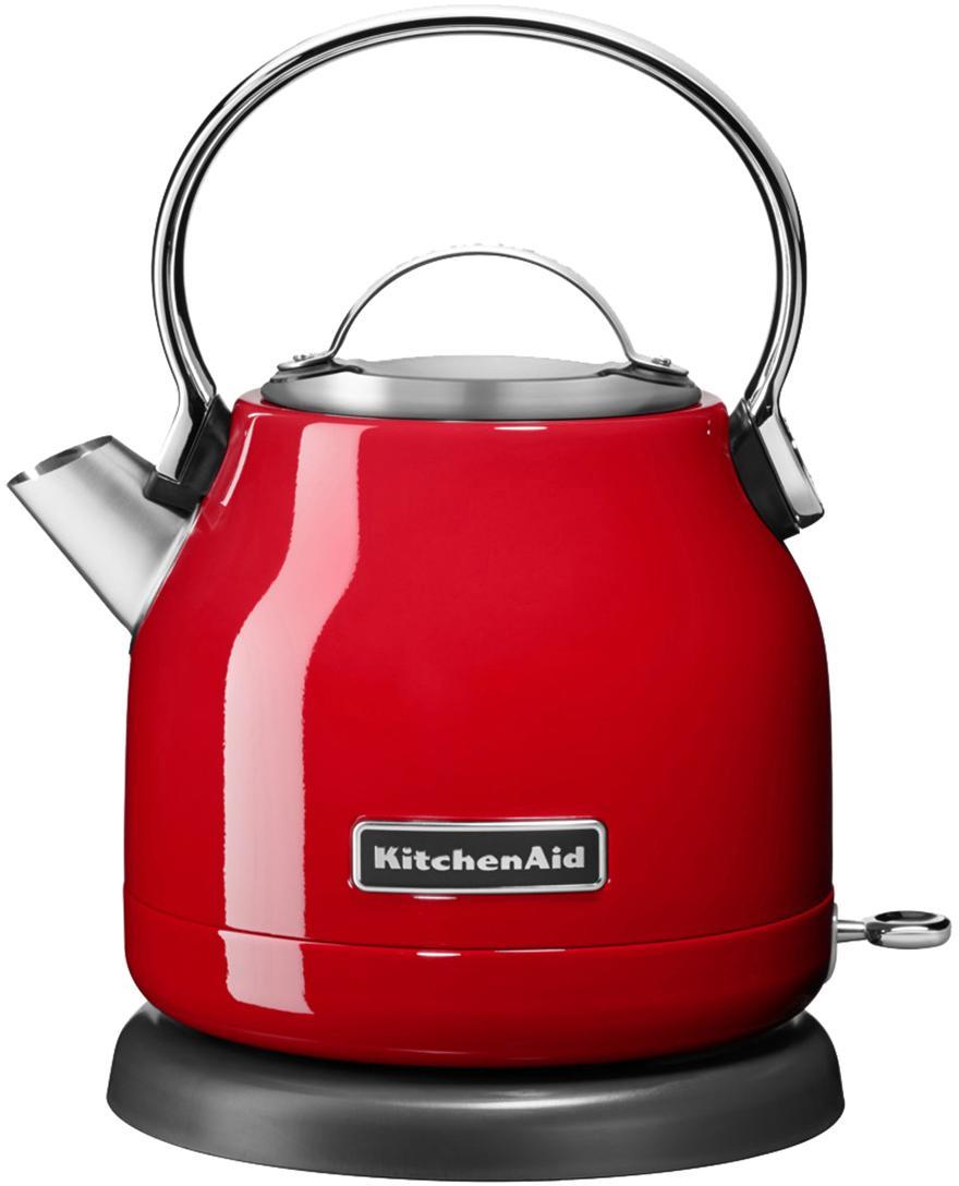 Wasserkocher KitchenAid, Edelstahl, Rot, 23 x 18 cm