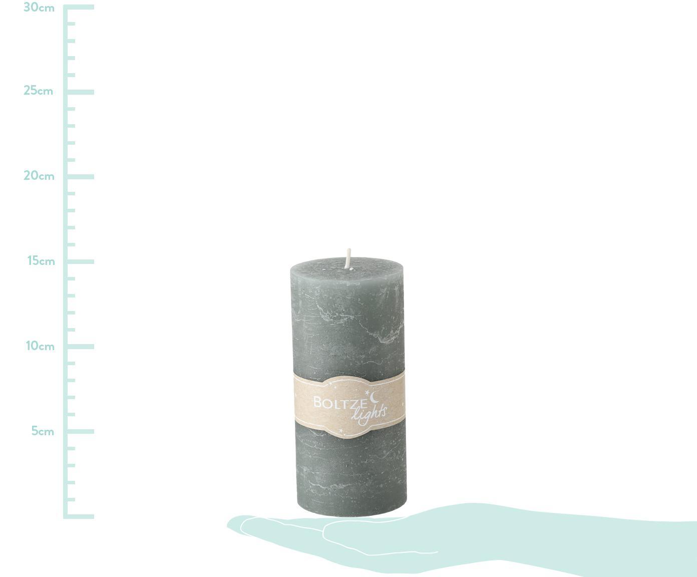 Set de velas Trent, 3pzas., Cera, Multicolor, Ø 7 x Al 15 cm