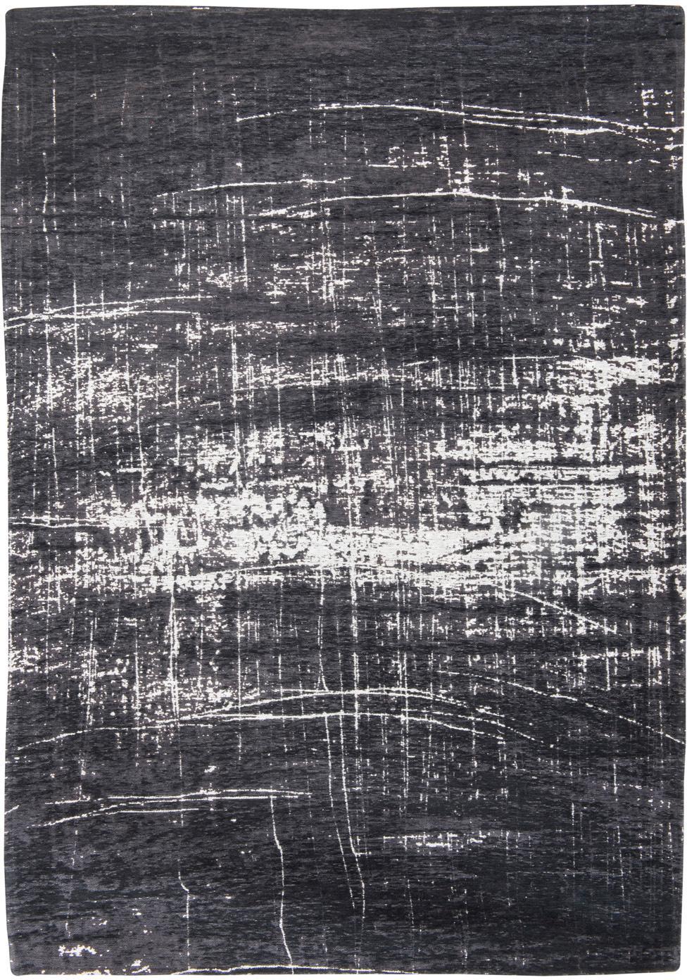 Mały dywan Griff, Biały, czarny, S 80 x D 150 cm (Rozmiar XS)