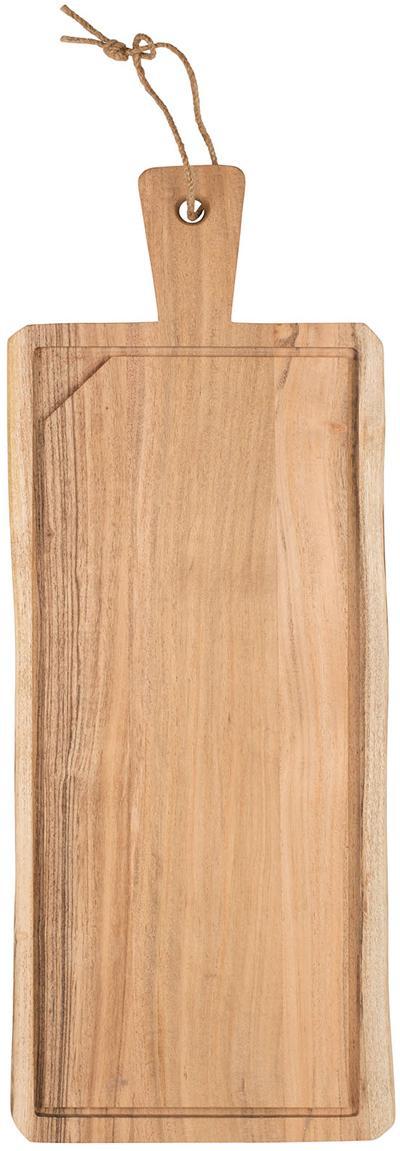 Tabla de cortar de madera de acacia Albert, Madera de acacia, Madera de acacia, An 60 x F 23 cm