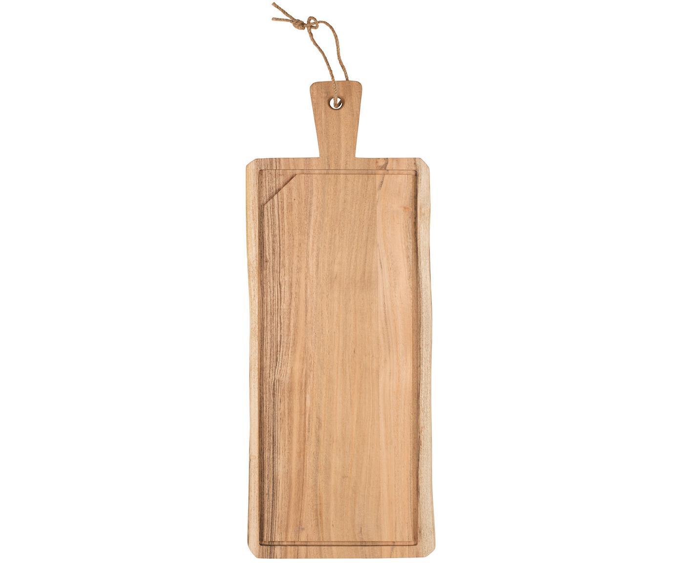 Tagliere in legno di acacia Albert, Legno di acacia, Legno di acacia, Larg. 60 x Prof. 23 cm