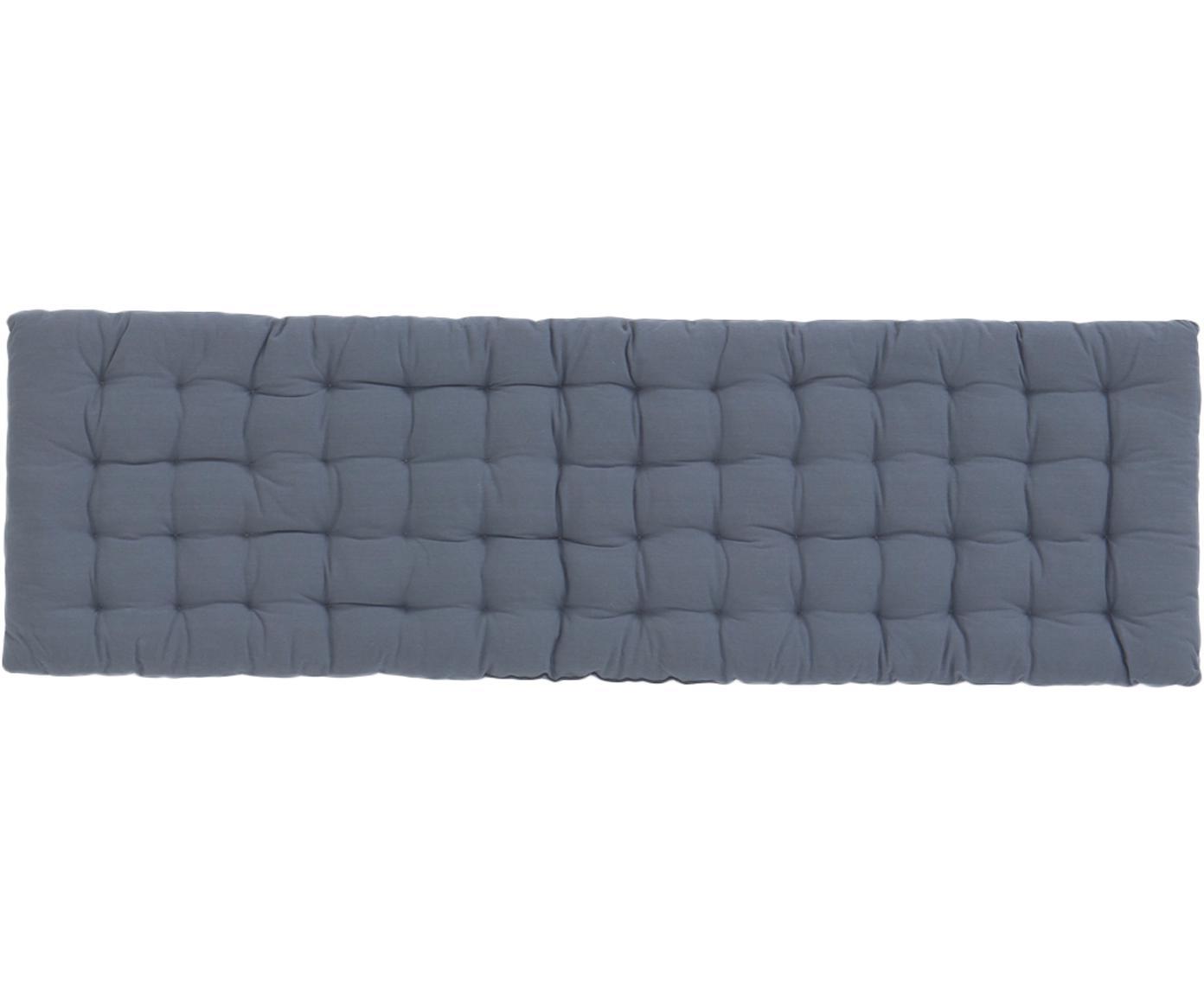 Stoelkussen Gavema, Blauw, 40 x 120 cm