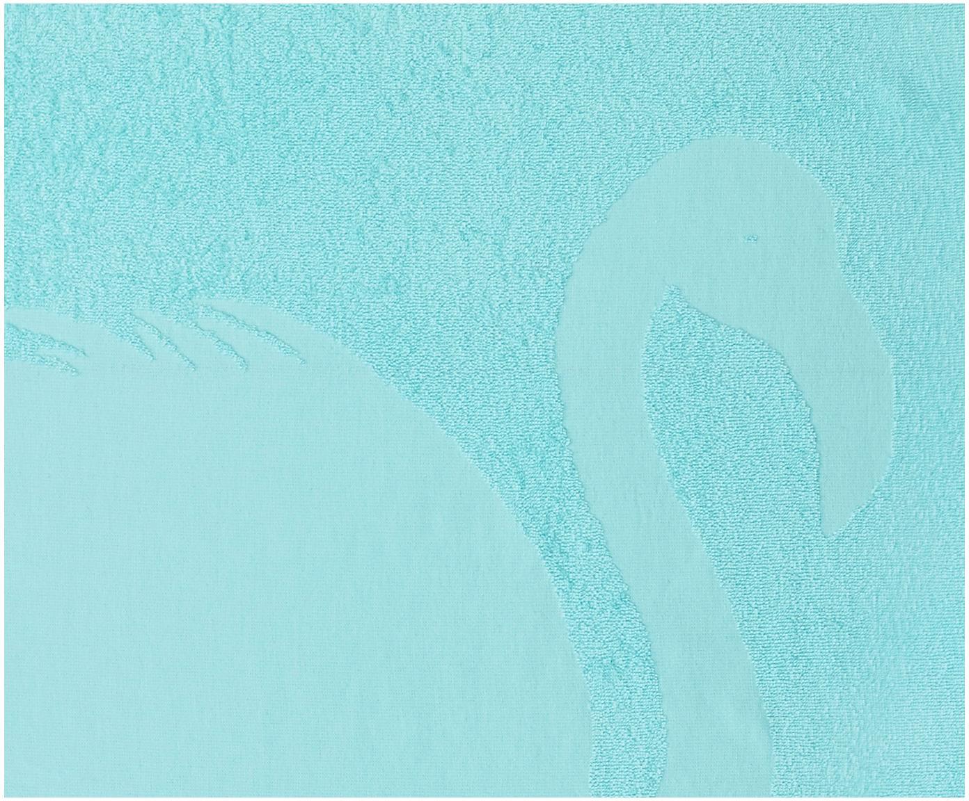 Fouta Capri Flamingo, Turkusowy, S 90 x D 160 cm