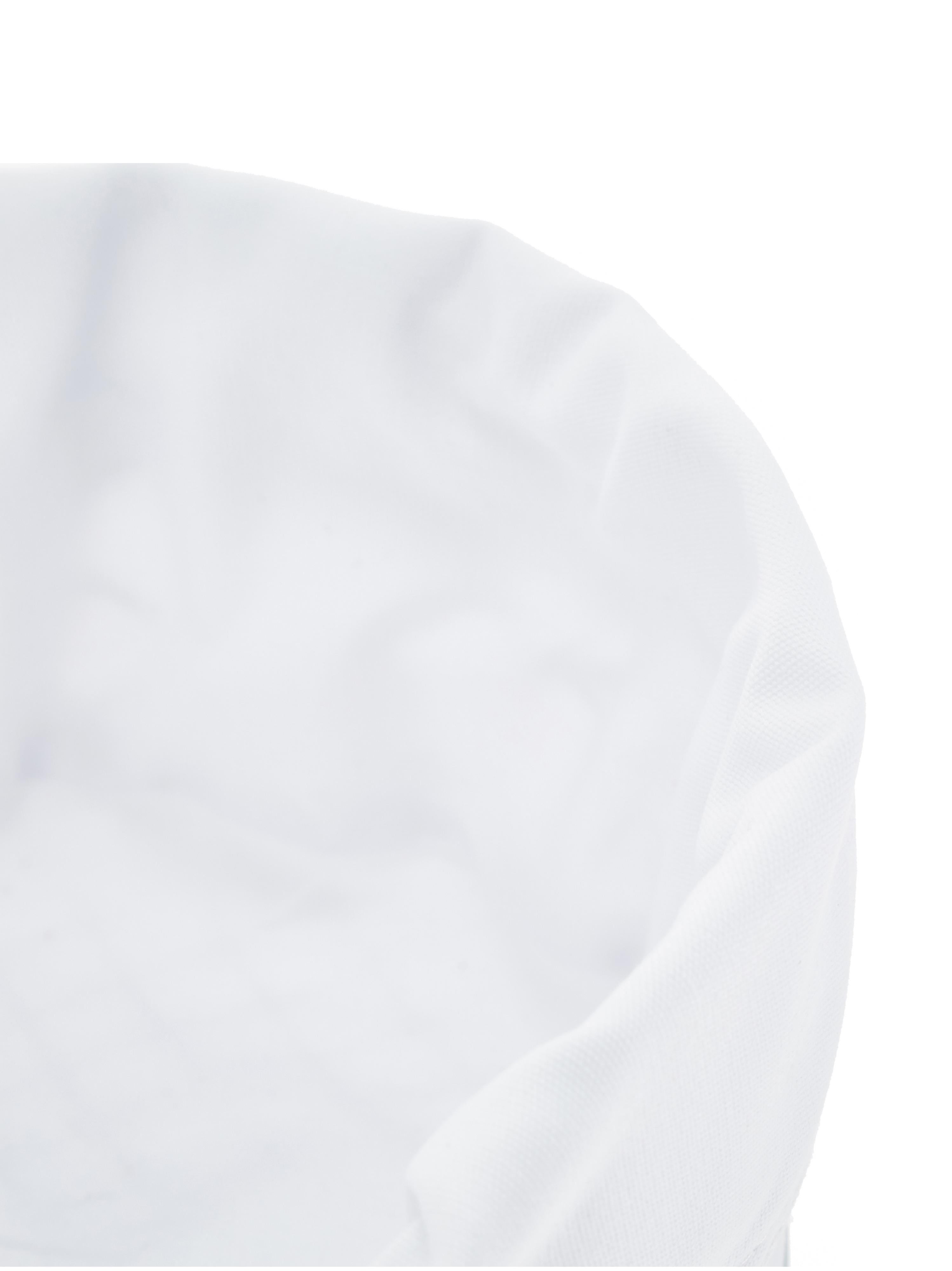 Kosz na pieczywo Alana, Srebrny, biały, Ø 21 x 11 cm