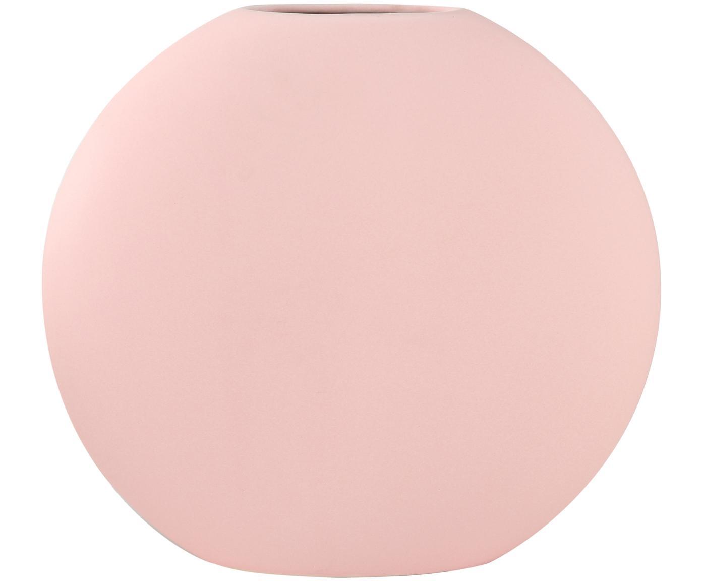 Wazon z kamionki Matteo, Kamionka, Blady różowy, S 25 x W 25 cm