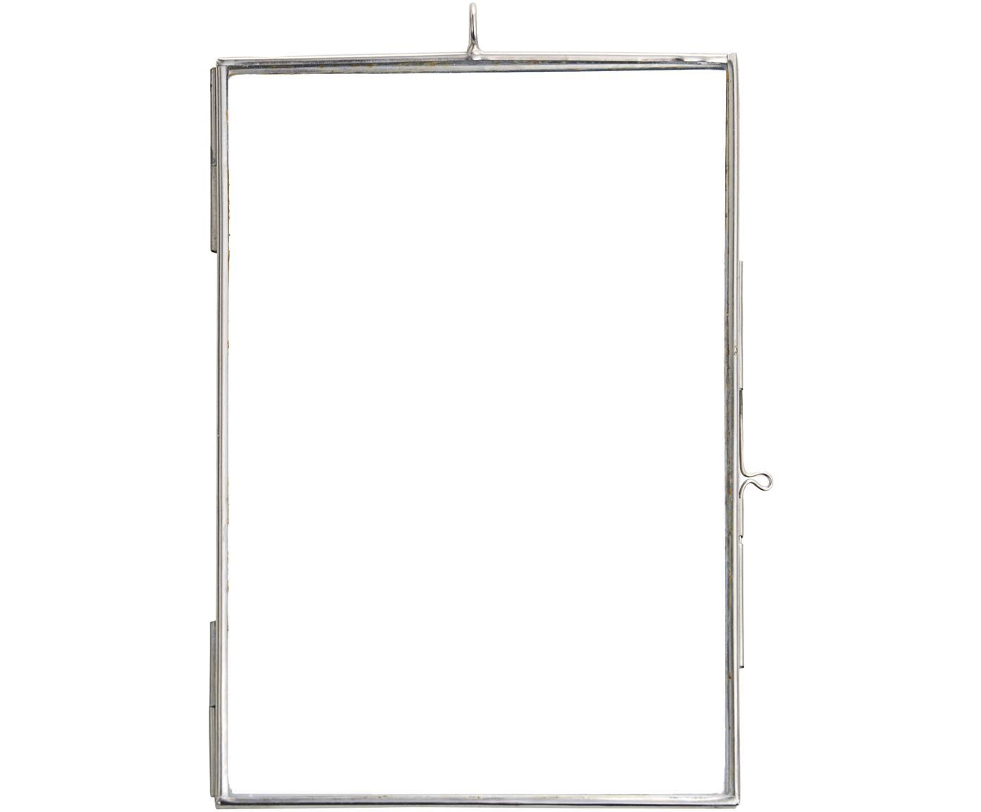 Cornice Key, Vetro, metallo rivestito, Acciaio inossidabile, 10 x 15 cm