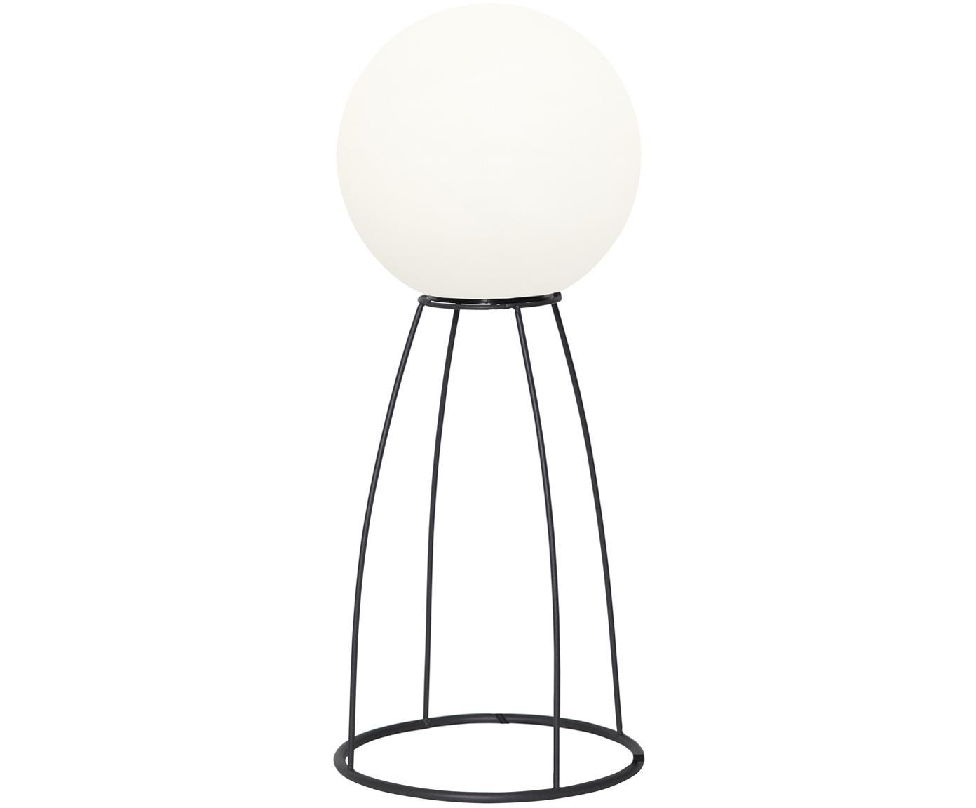 Lampada a LED da esterno Gardenlight, Materiale sintetico, metallo, Bianco, nero, Ø 29 x Alt. 70 cm