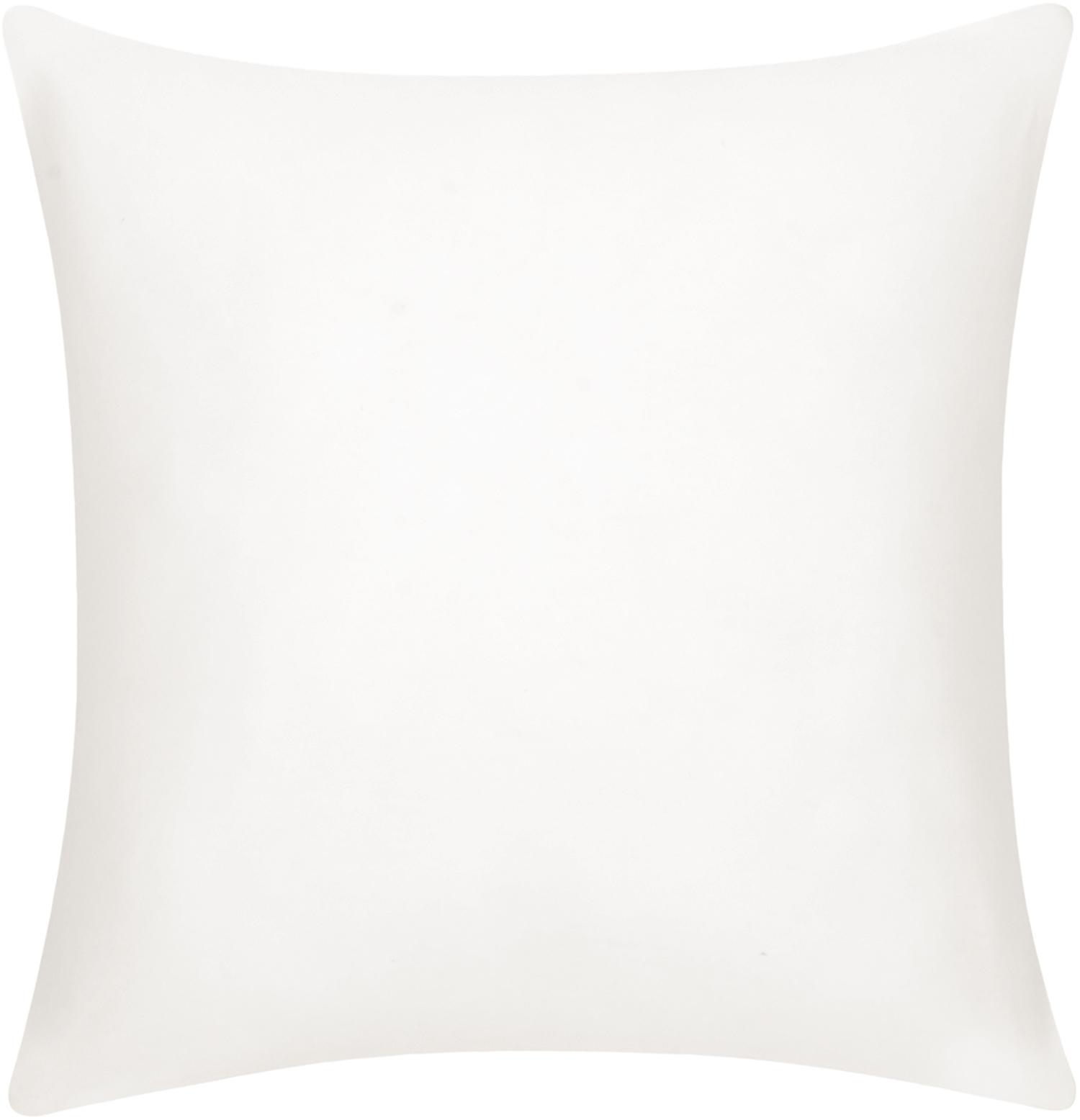 Funda de cojín de algodón Mads, 100%algodón, Blanco crema, An 40 x L 40 cm
