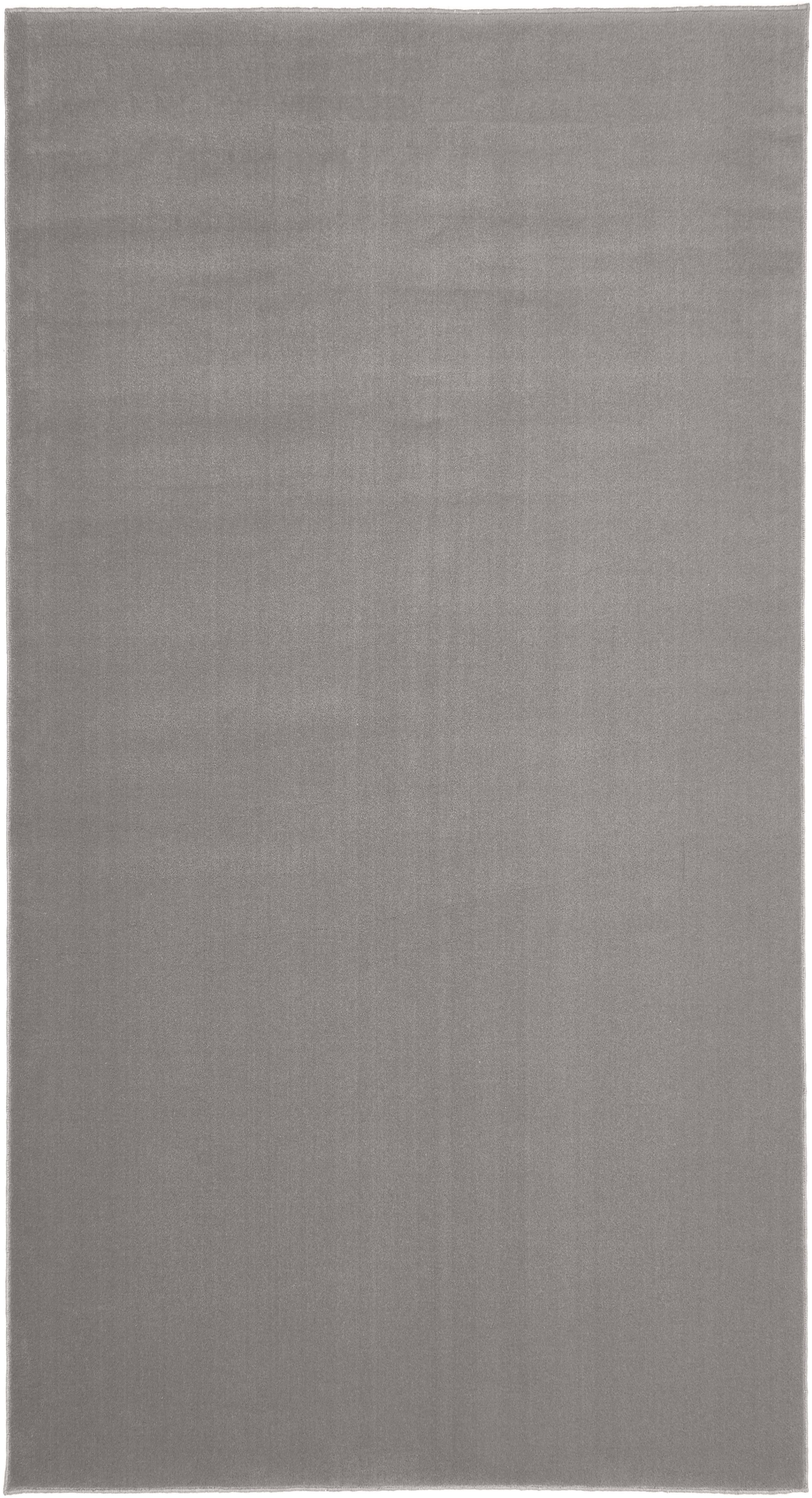 Wollteppich Ida in Grau, Flor: 100% Wolle, Grau, B 80 x L 150 cm (Größe XS)