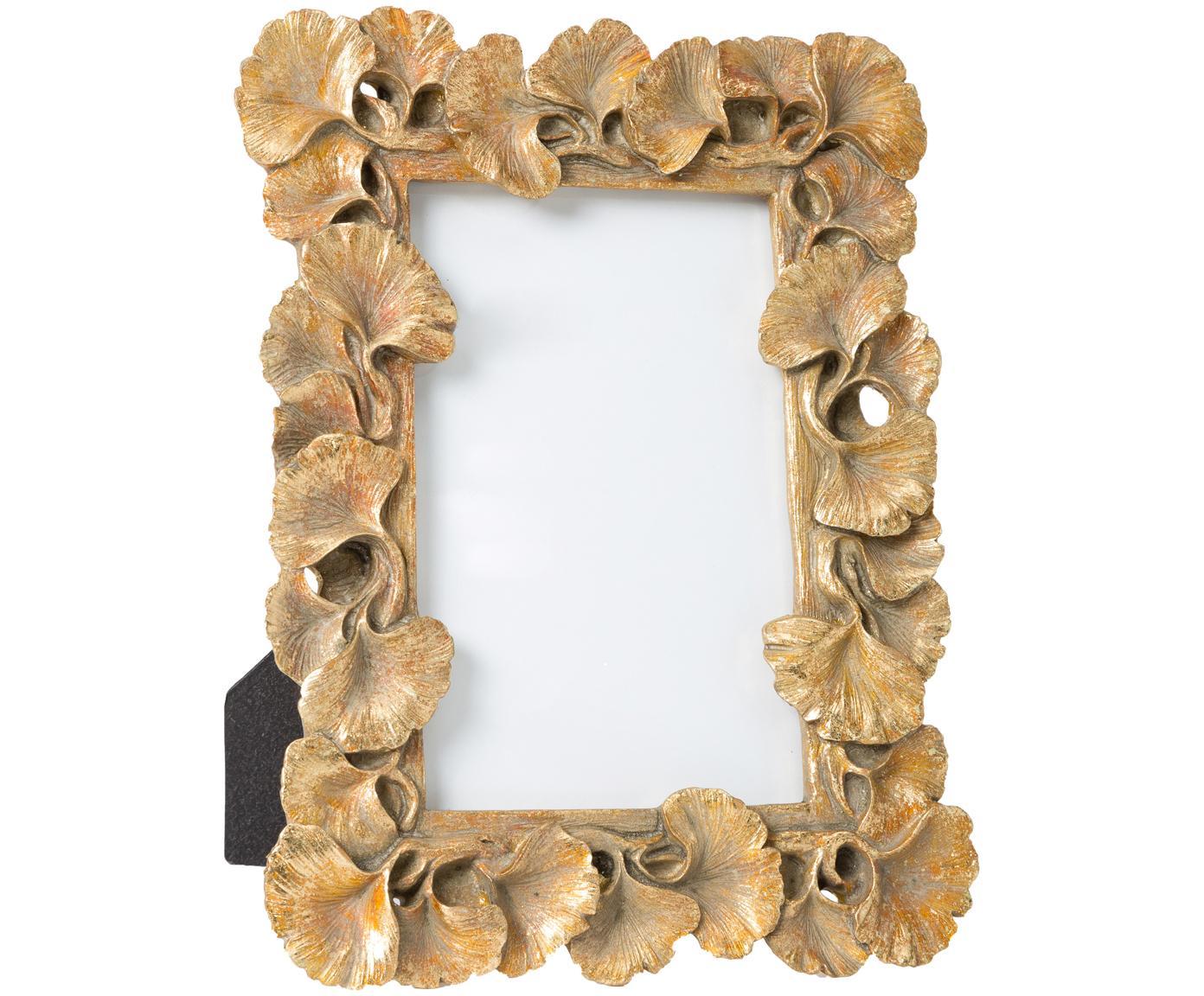 Fotolijstje Macky, Frame: polyresin, Goudkleurig, 10 x 15 cm