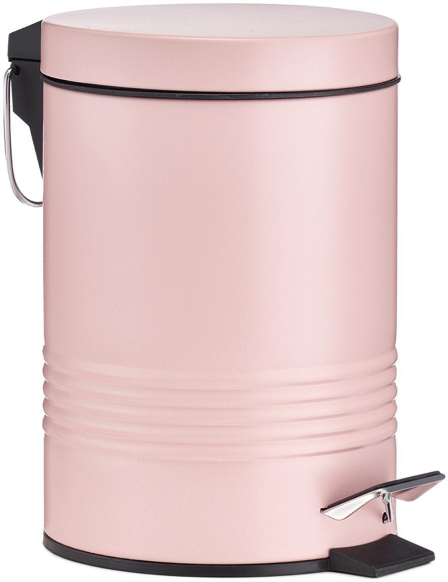 Abfalleimer Sam mit Pedal-Funktion, Rosa, Ø 16 x H 25 cm