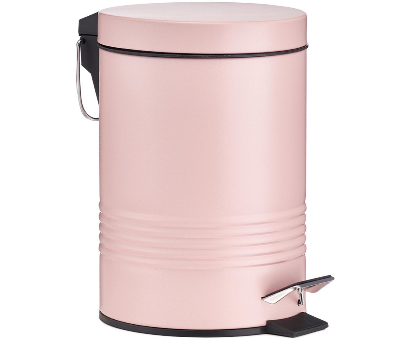 Afvalemmer Sam met pedaal-functie, Roze, Ø 16 x H 25 cm