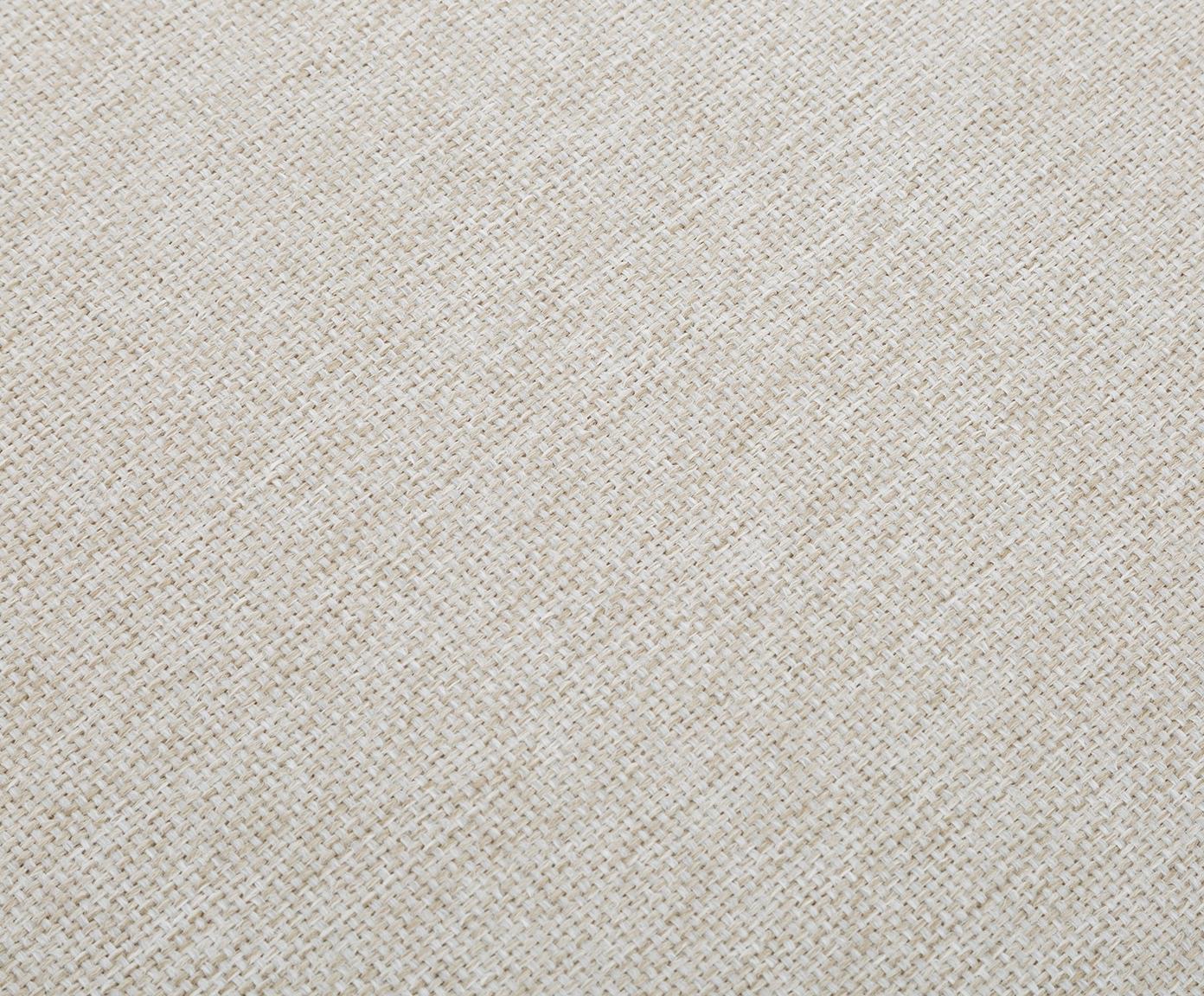 Puf Brooks, Tapicerka: poliester 35 000 cykli w , Stelaż: drewno sosnowe, lite, Nogi: metal malowany proszkowo, Beżowy, S 80 x W 43 cm