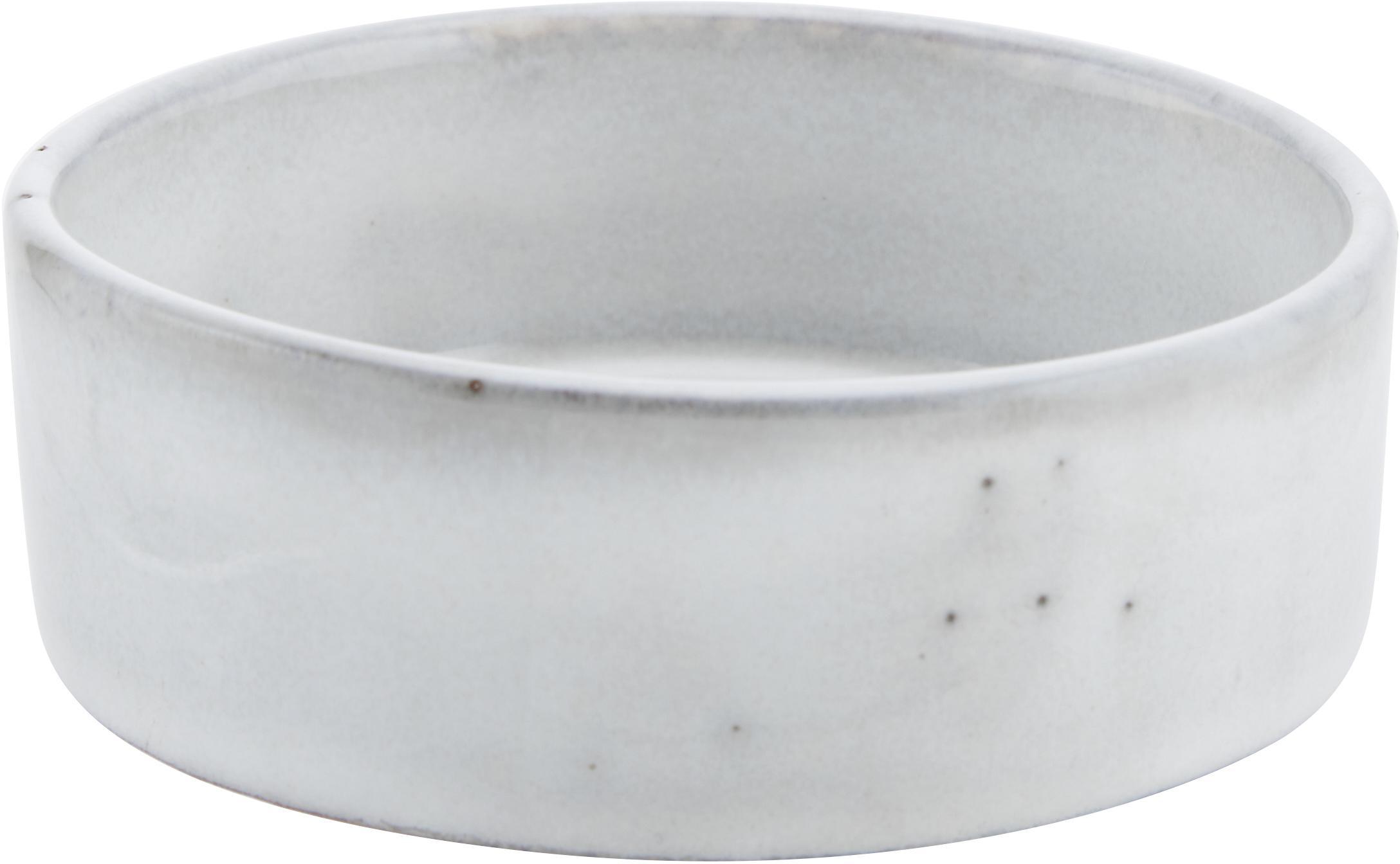 Ręcznie wykonana miska głęboka Nordic Sand, 4szt., Kamionka, Odcienie piaskowego, Ø 8 x W 3 cm