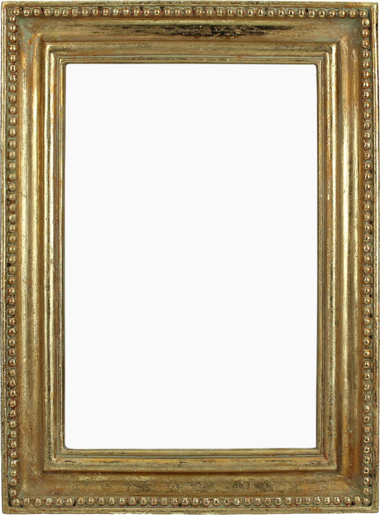 Marco Antique, Dorado, 13 x 18 cm