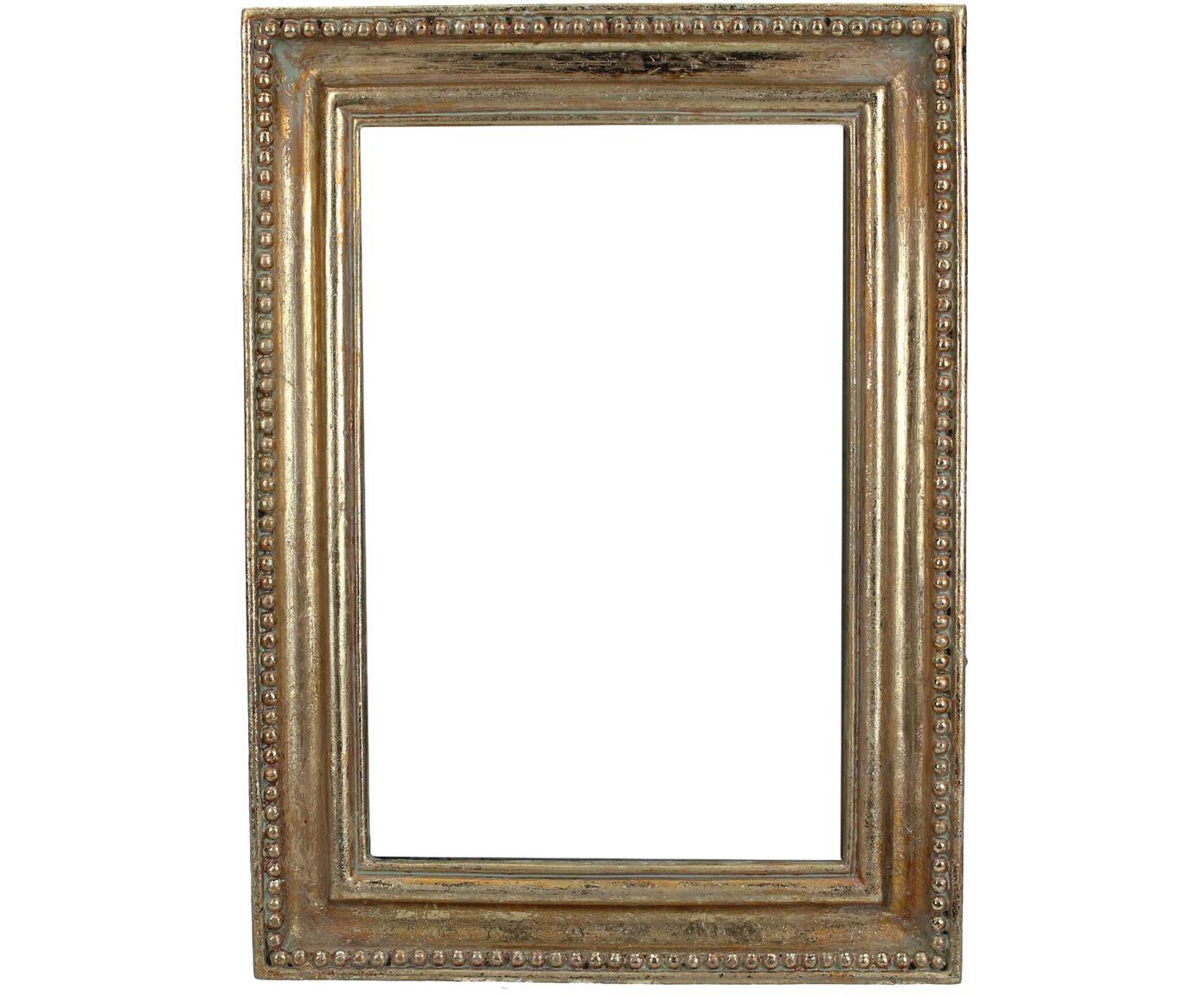 Cornice Antique, Cornice: poliresina, Dorato, 13 x 18 cm
