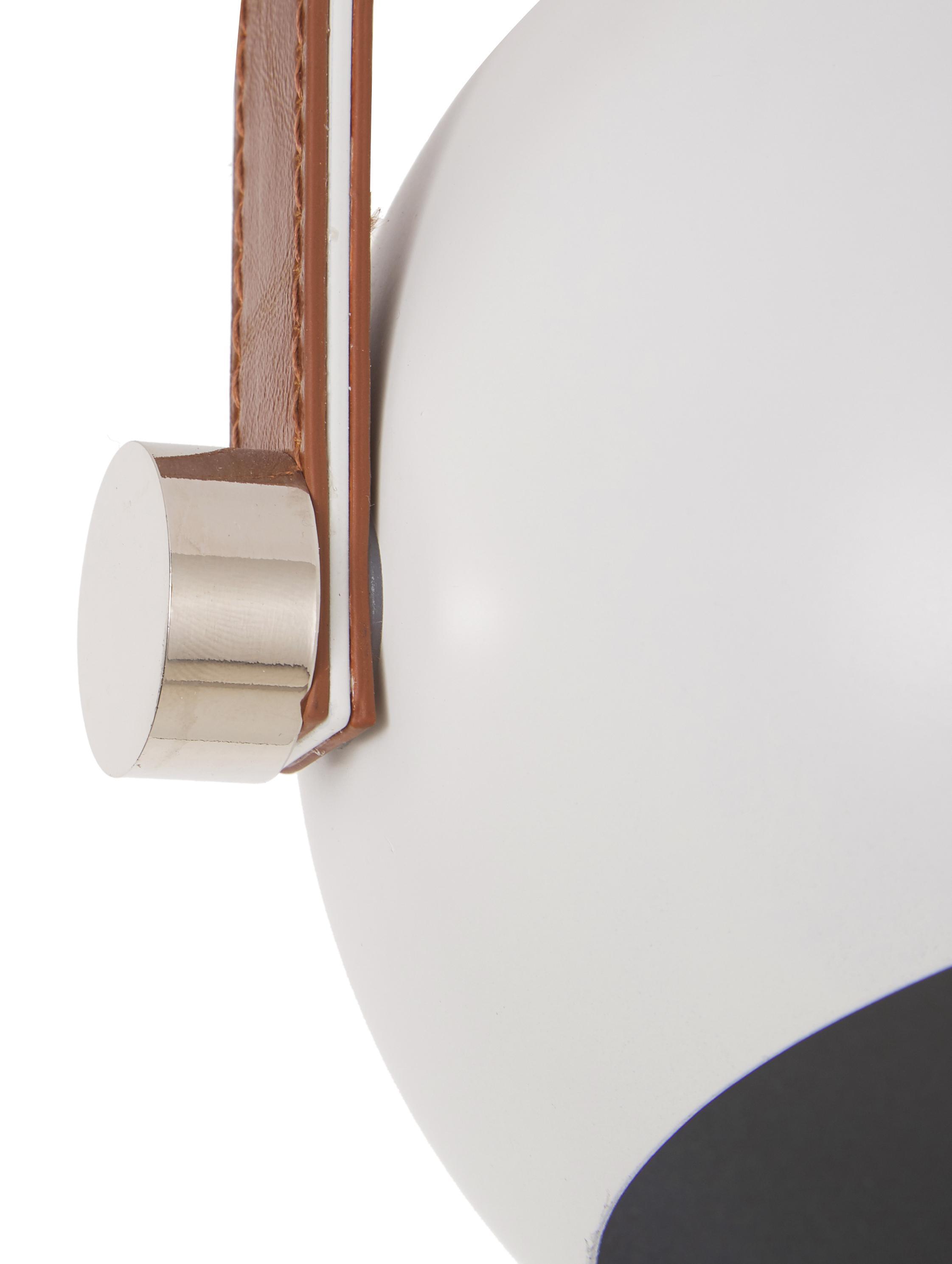 Deckenstrahler Bow im Industrial-Style, Weiß, 76 x 28 cm