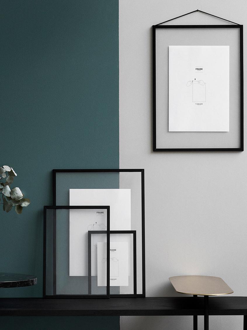 Marco Frame, Negro, An 23 x Al 31 cm
