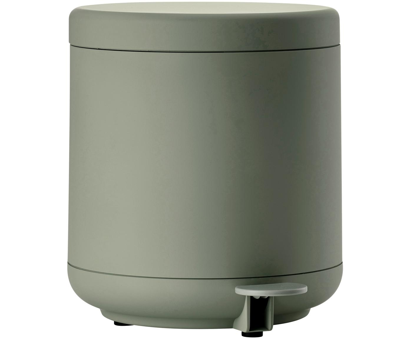 Abfalleimer Ume mit Pedal-Funktion, Kunststoff (ABS), Eukalyptusgrün, Ø 20 x H 22 cm