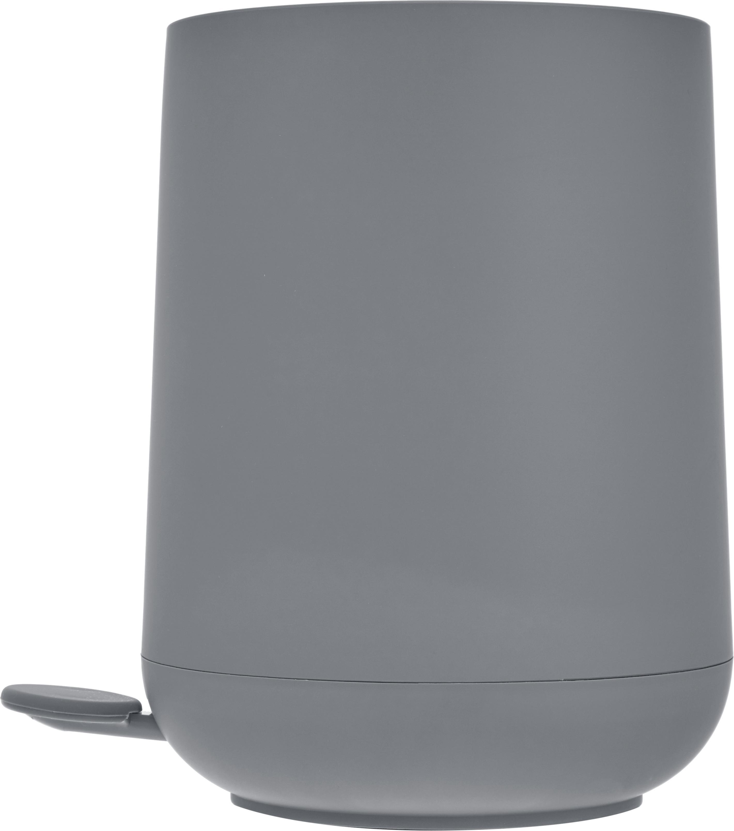 Pattumiera Nova, Materiale sintetico ABS, Grigio, Ø 23 x A 29 cm