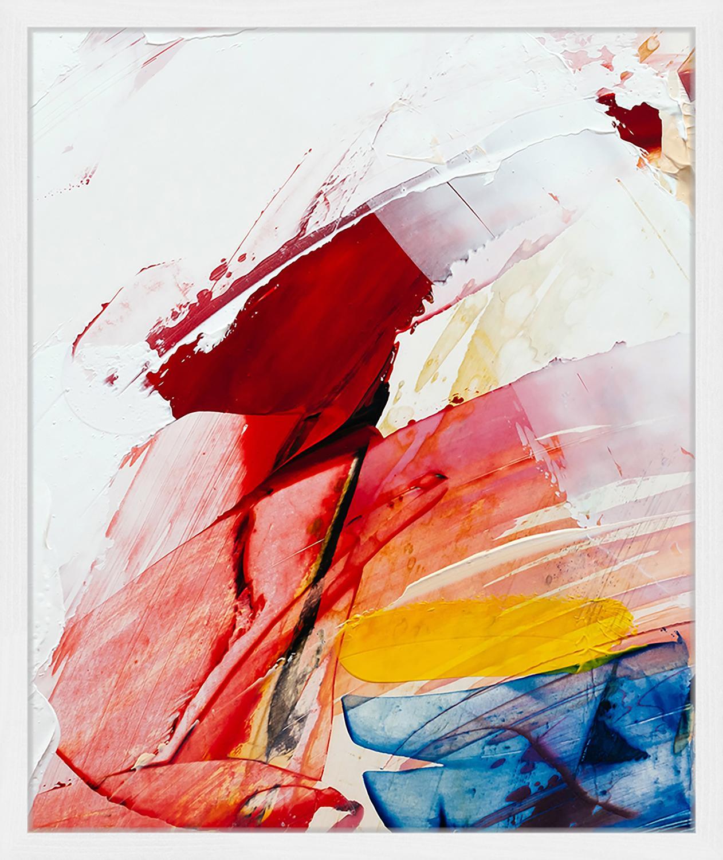 Gerahmter Digitaldruck Abstract Art II, Bild: Digitaldruck auf Papier, , Rahmen: Holz, lackiert, Front: Plexiglas, Mehrfarbig, 53 x 63 cm