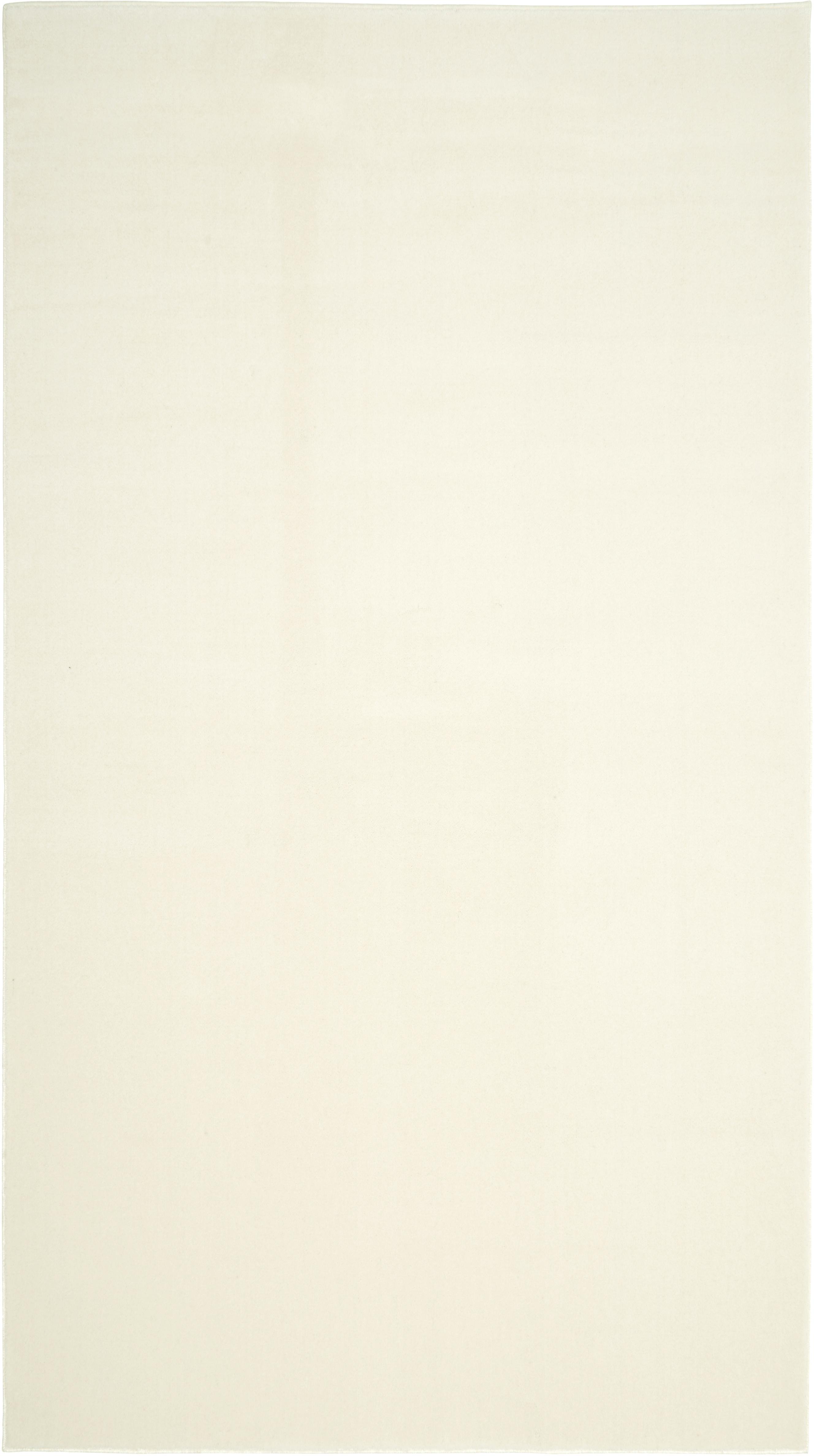 Tappeto in lana beige Ida, Vello: lana, Retro: poliestere, Beige, Larg. 60 x Lung. 110 cm (taglia XXS)