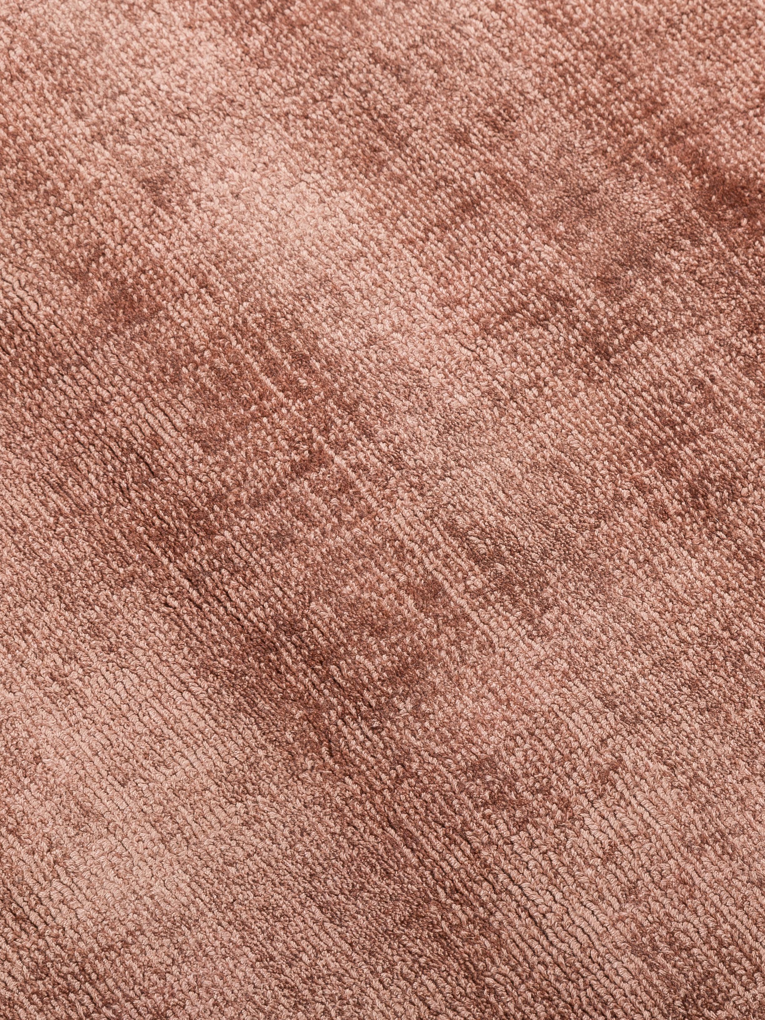 Tappeto in viscosa Jane Diamond, Retro: 100% cotone, Terracotta, Larg.160 x Lung. 230 cm  (taglia M)