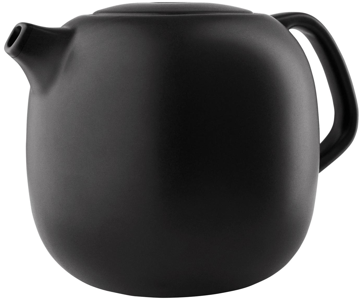 Teiera color nero opaco Nordic Kitchen, Nero opaco, 1 l