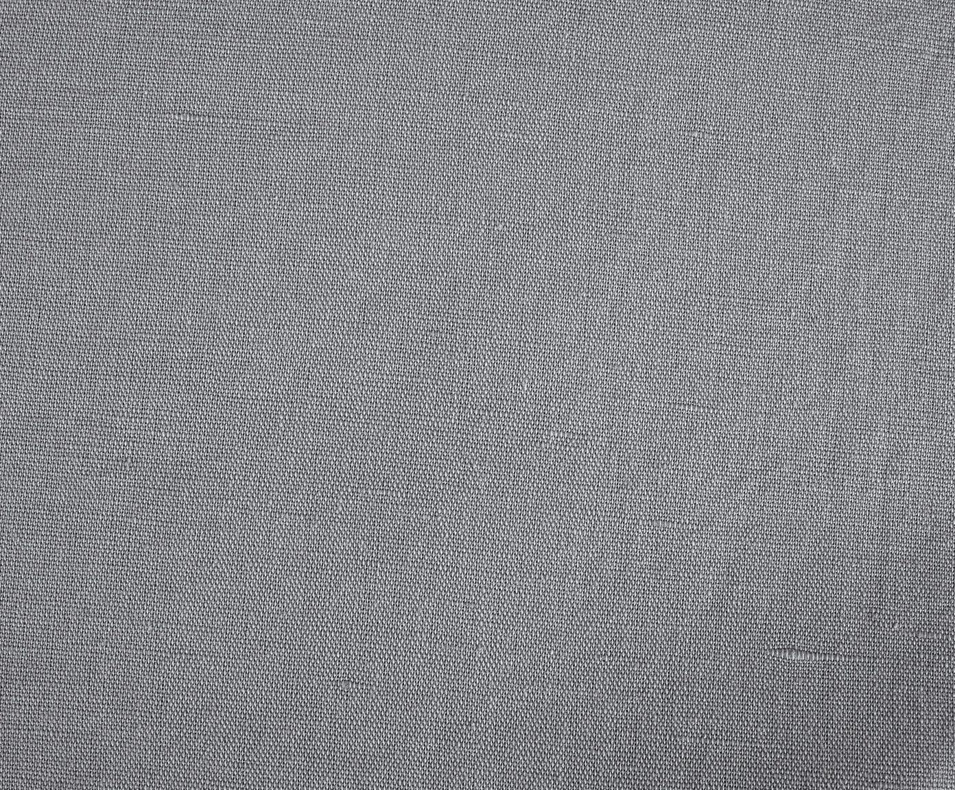 Pościel z lnu z efektem sprania Nature, Ciemny szary, 135 x 200 cm