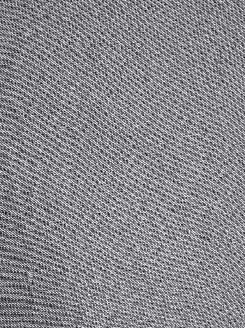 Gewaschene Leinen-Bettwäsche Nature in Dunkelgrau, Halbleinen (52% Leinen, 48% Baumwolle)  Fadendichte 108 TC, Standard Qualität  Halbleinen hat von Natur aus einen kernigen Griff und einen natürlichen Knitterlook, der durch den Stonewash-Effekt verstärkt wird. Es absorbiert bis zu 35% Luftfeuchtigkeit, trocknet sehr schnell und wirkt in Sommernächten angenehm kühlend. Die hohe Reißfestigkeit macht Halbleinen scheuerfest und strapazierfähig., Dunkelgrau, 135 x 200 cm + 1 Kissen 80 x 80 cm
