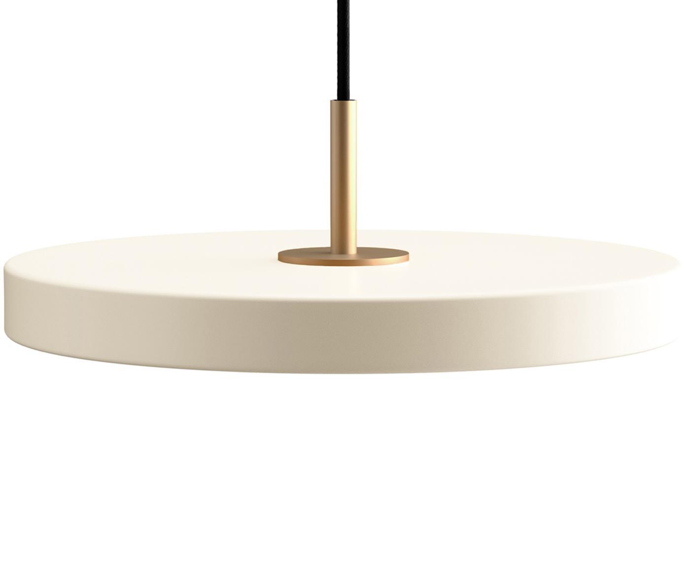 Lampa wisząca LED  Asteria, Kremowobiały, Ø 31 x W 14 cm