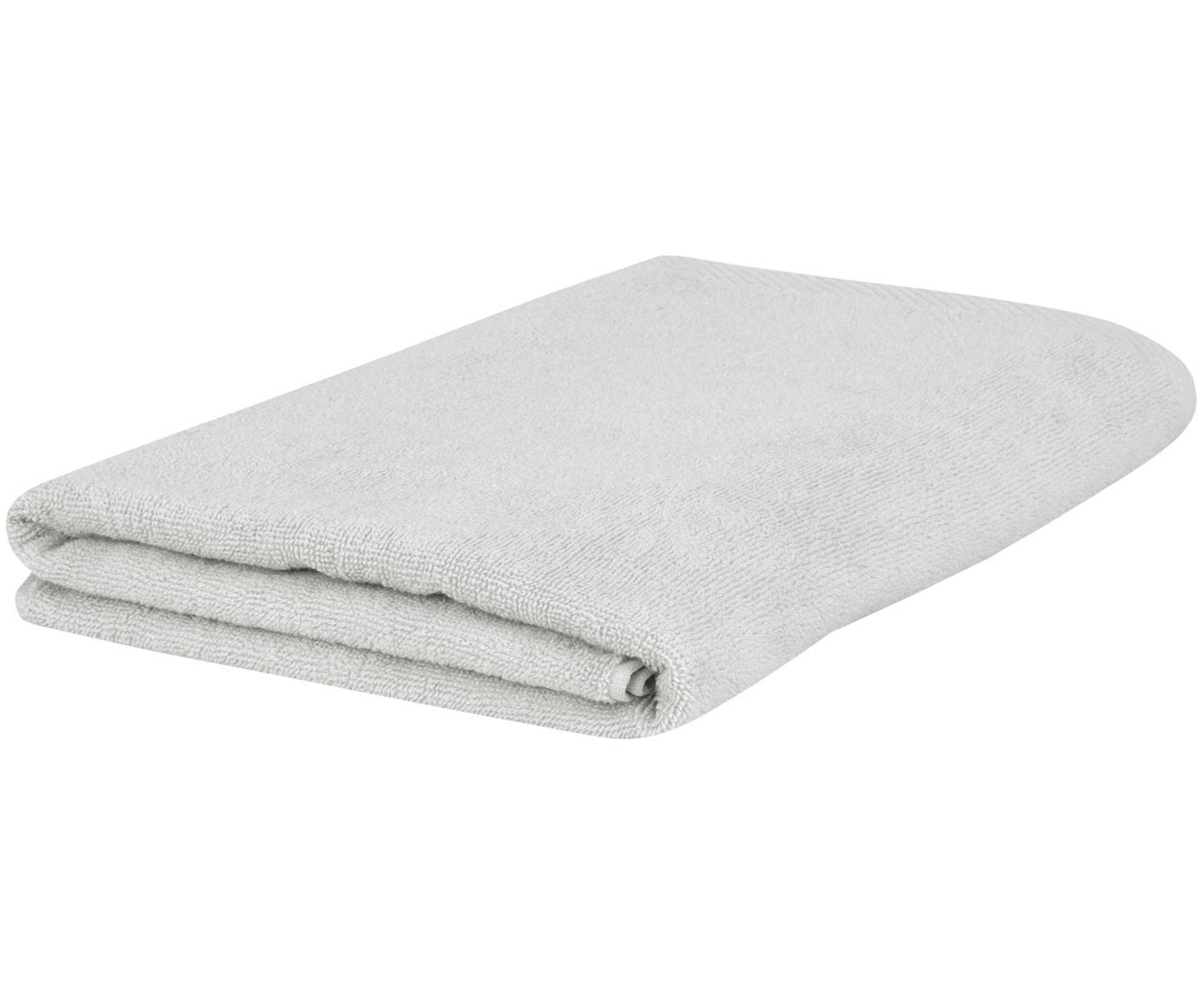 Eenkleurige handdoek Comfort, Lichtgrijs, Gastendoekje