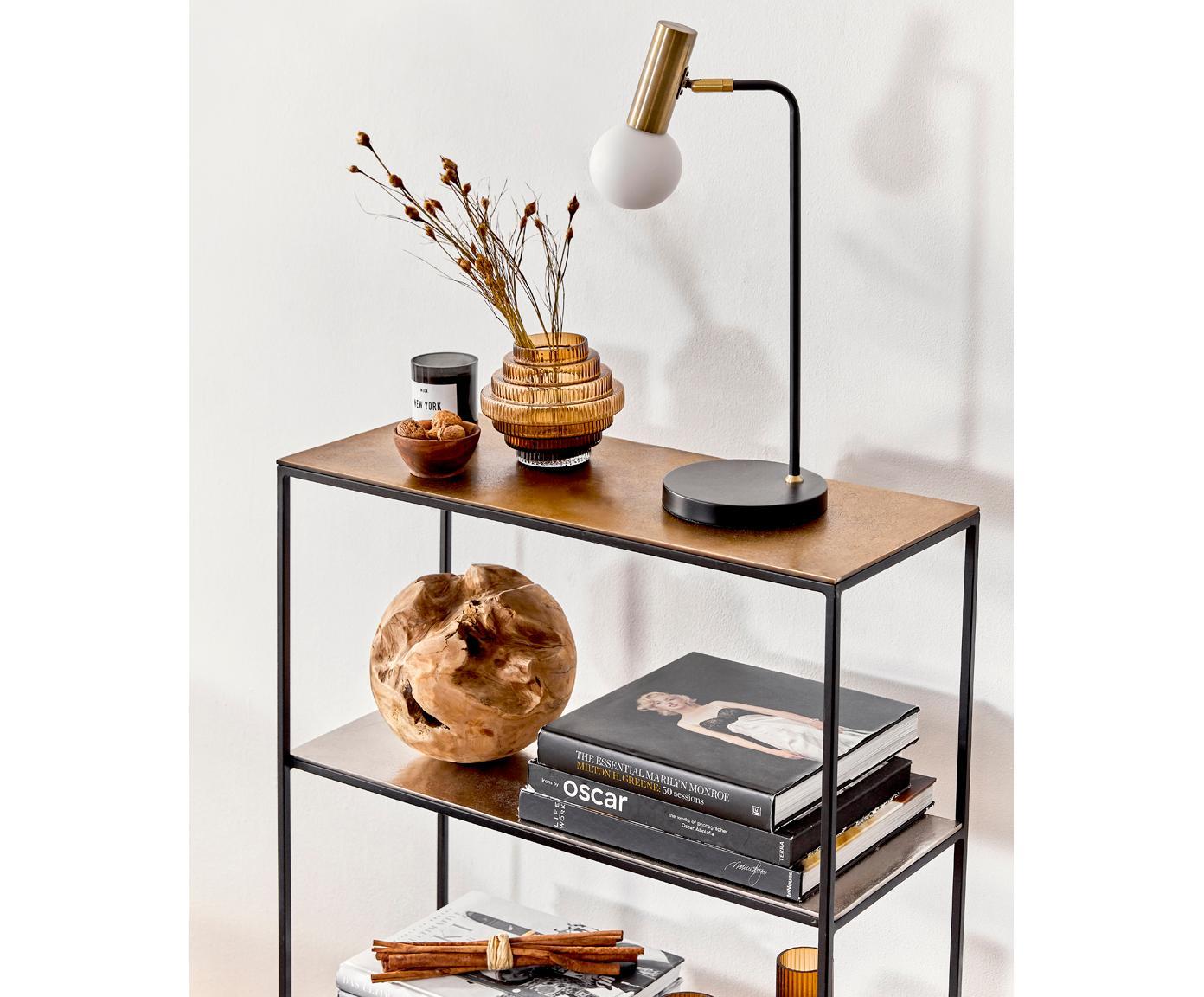 Lampa biurkowa Wilson, Czarny, Ø 22 x W 54 cm