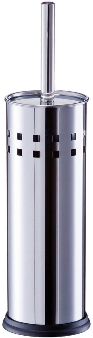 Toiletborstel Tinni met edelstalen houder, Edelstaal, Edelstaalkleurig, Ø 10 x H 39 cm
