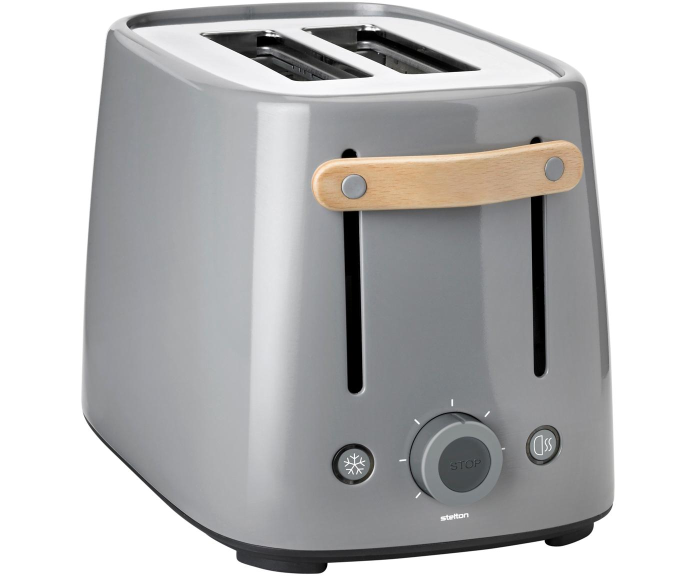 Toaster Emma, Grijs, 20 x 20 cm