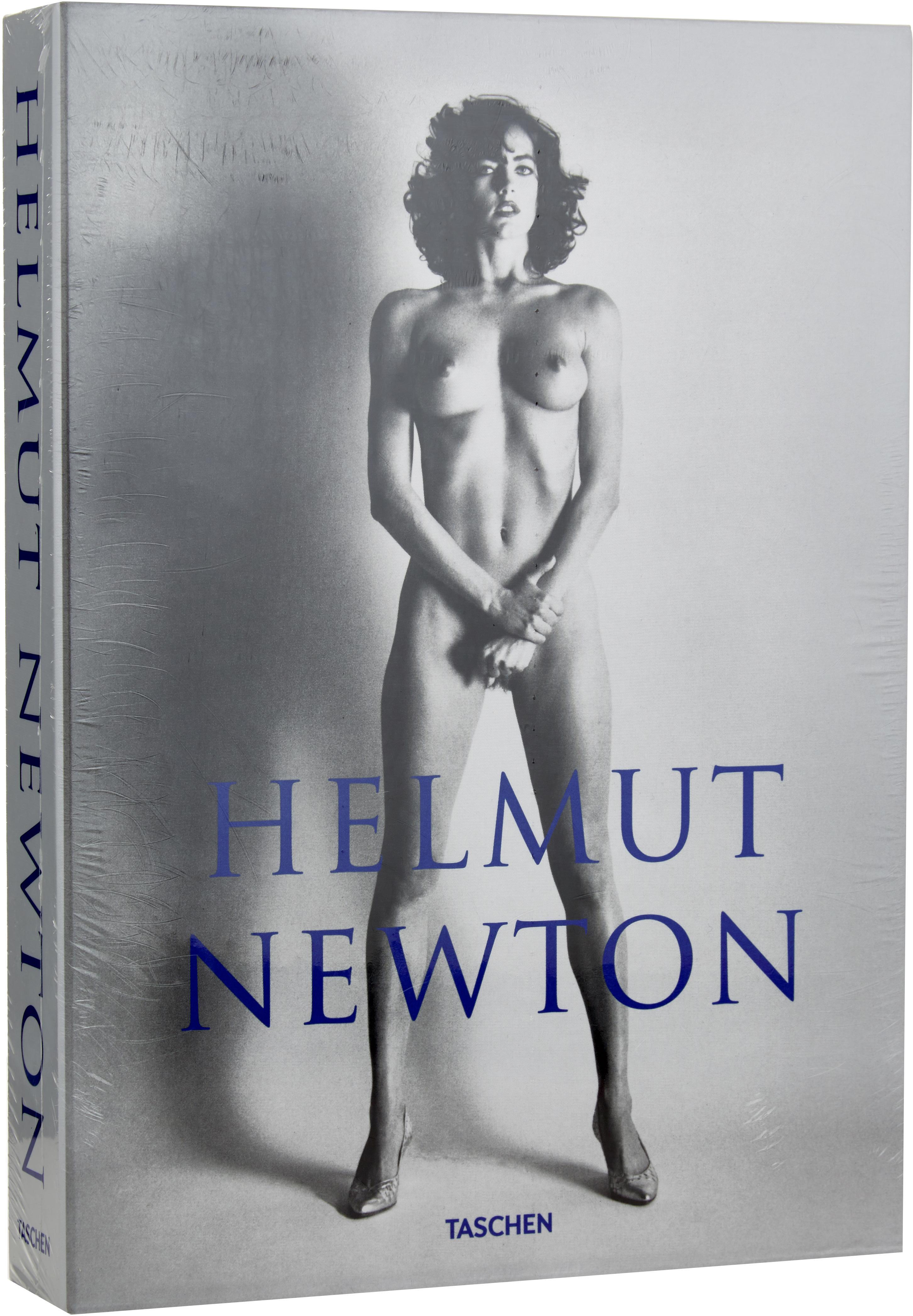 Fotoalbum Helmut Newton - Sumo, Papier, hardcover, Grijs, blauw, 27 x 37 cm