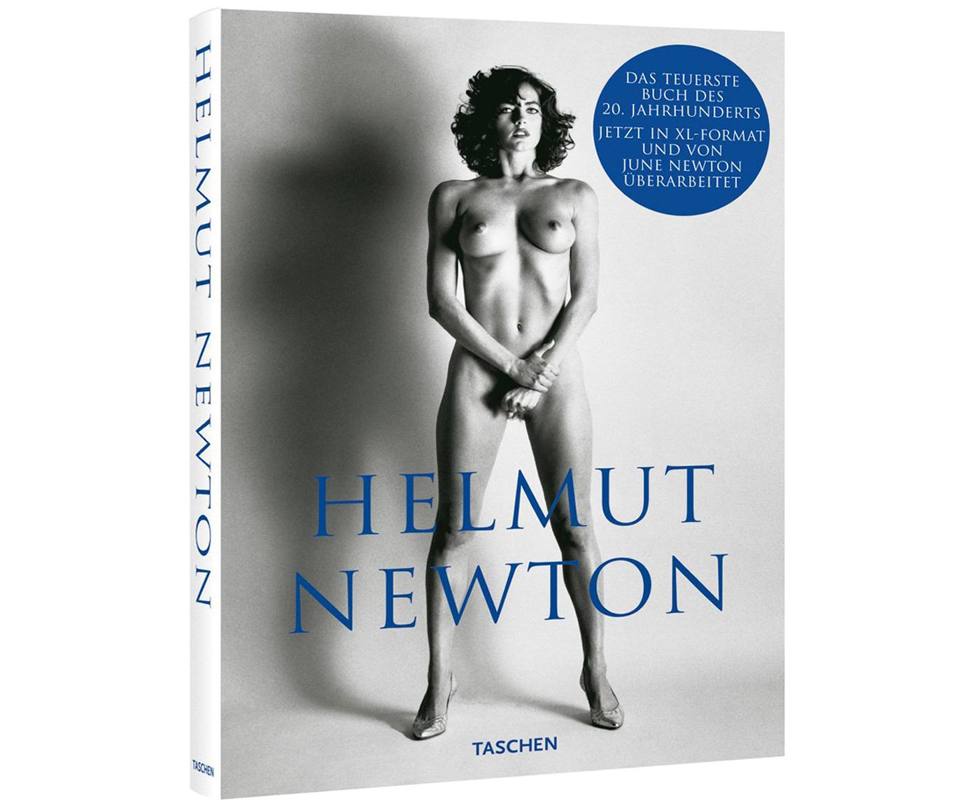 Libro ilustrado Helmut Newton – Sumo, Papel, tapa dura, Gris, azul, L 37 x An 27 cm