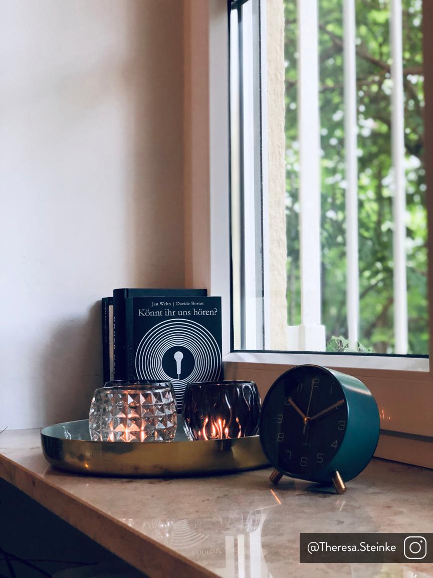 Teelichthalter-Set Aliza, 3-tlg., Glas, Grau, Transparent, Ø 10 x H 9 cm