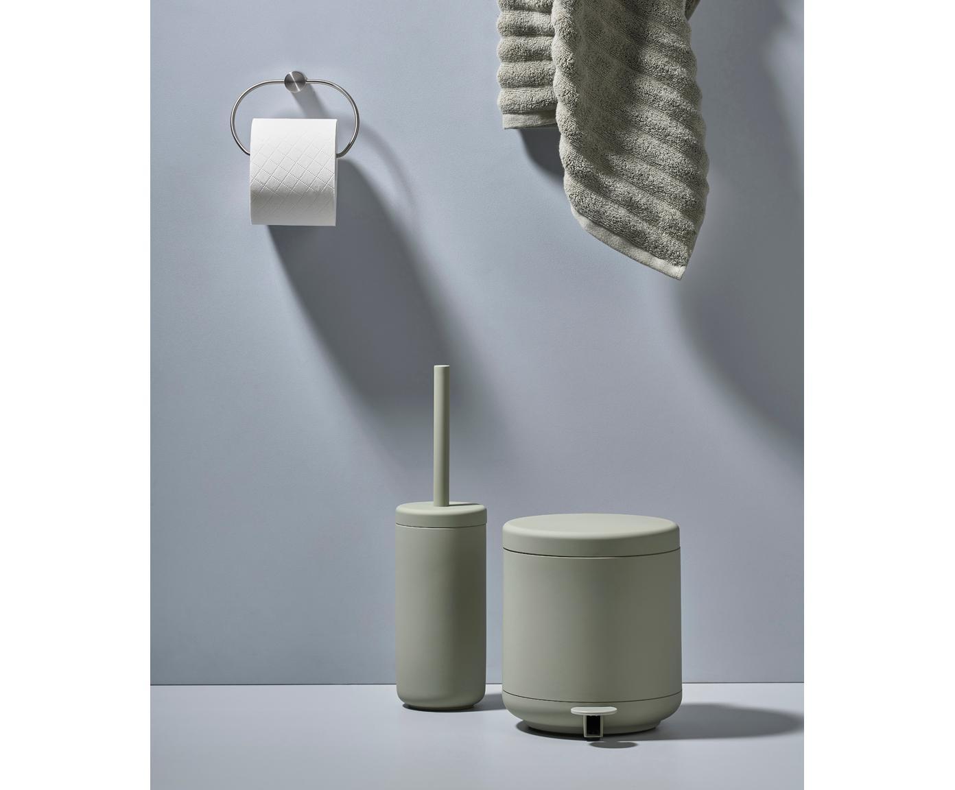 Szczotka toaletowa Ume, Eukaliptusowy zielony, Ø 10 x W 39 cm