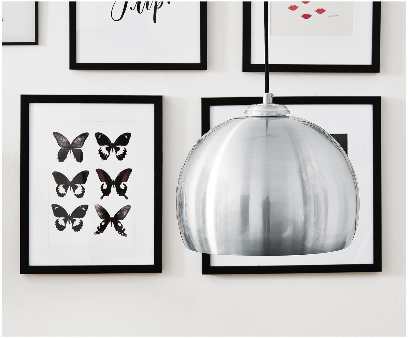 Impresión digital enmarcada Butterflies Dark, Negro, blanco, An 30 x Al 40 cm