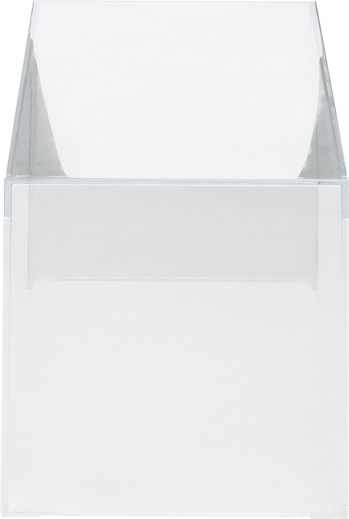 Transparenter Couchtisch Invisible, Kunststoff, Transparent, 120 x 40 cm