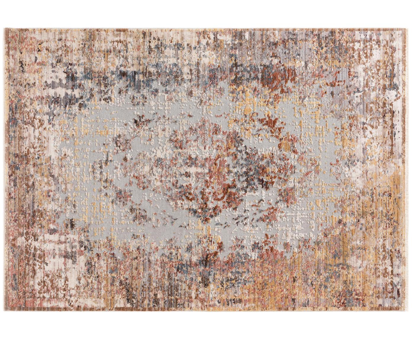 Dywan Valencia, Odcienie beżowego, odcienie brązowego, odcienie szarego, S 120 x D 170 cm (Rozmiar S)