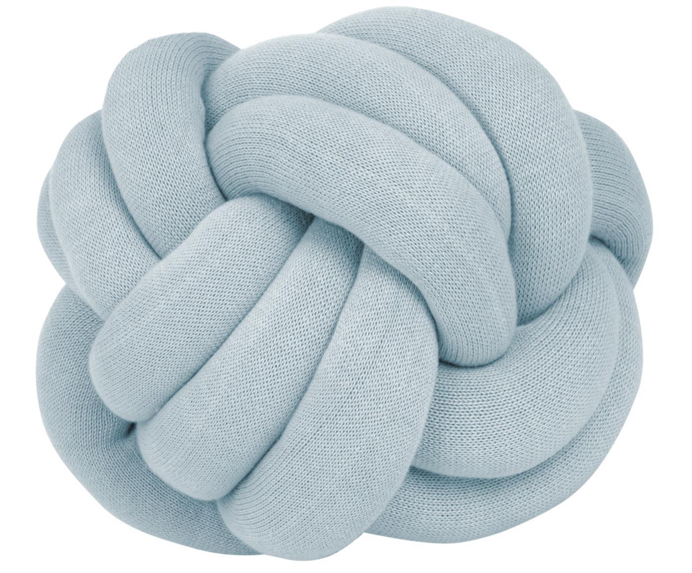 Poduszka Twist, Jasny niebieski, Ø 30 cm